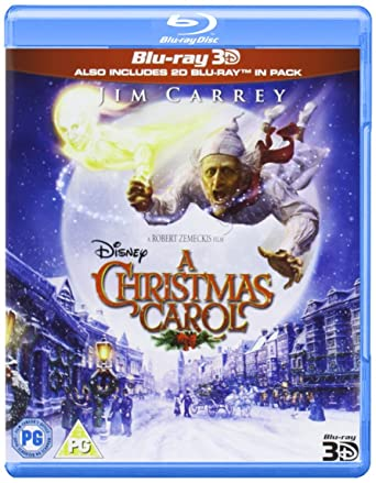 A Christmas Carol (Blu-ray 3D) [Region Free]: Amazon.co.uk: Jim ...