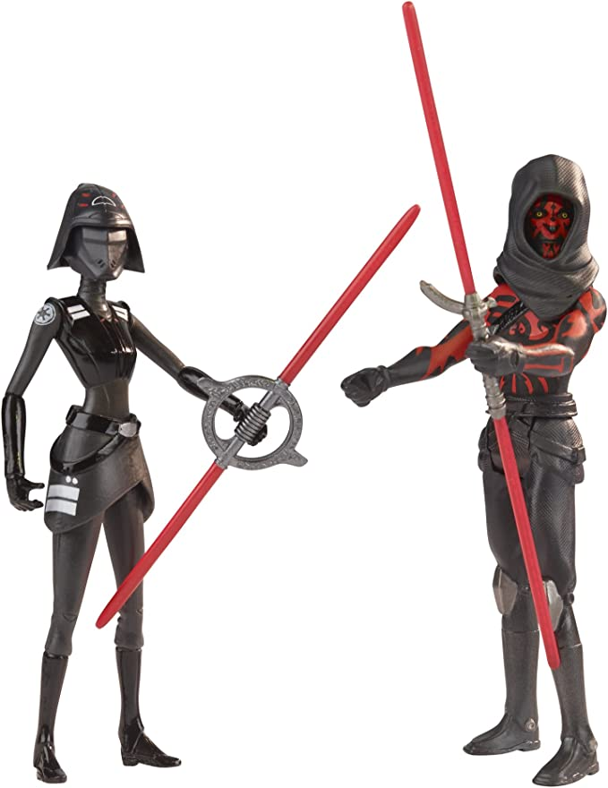 Nouveau Disney Star Wars septième soeur inquisiteur /& Darth Maul Action Figures