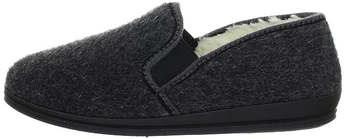 Rohde Marc 2610 - Zapatillas de casa de tela para hombre: Amazon.es: Zapatos y complementos