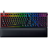 Razer Huntsman V2 Optical Gaming Keyboard: Fastest Keyboard Switches Ever - Linear Optical Switches - Doubleshot PBT…