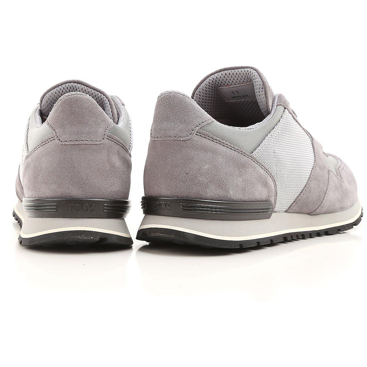 Tod s Sneaker Multi Tessuto da Running XXM0XH0Q803H8W89FG Grigio Uomo 5   Amazon.fr  Chaussures et Sacs 7a471937c27