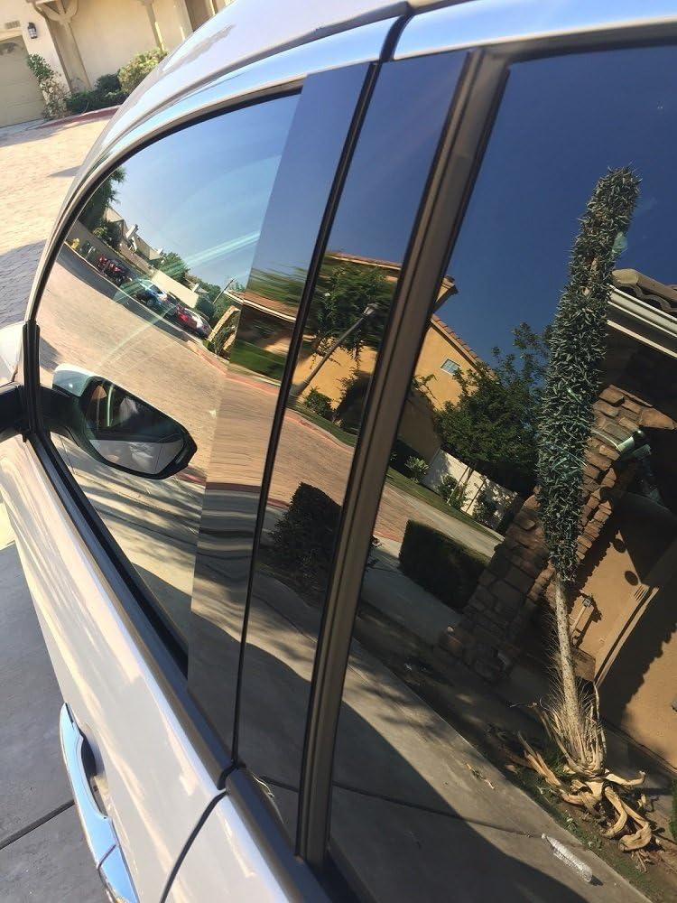 Fits 2011-2013 Infiniti M37 M56 Piano Glossy Black Pillar Posts Trim 8PCS