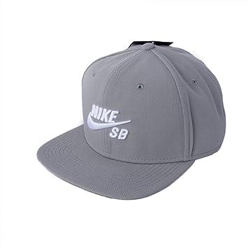 Nike U Nk Cap Pro Gorra, Hombre, Dust/Negro/Blanco, Talla Única: Amazon.es: Deportes y aire libre