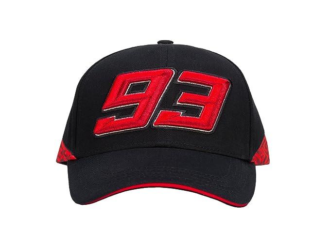 Marc Marquez 2018 93 Berretto da Baseball Nero Rosso Ufficiale Honda MotoGP  Team  Amazon.it  Sport e tempo libero 75e04ea52127