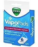Vicks VapoPads, 6 count refill pads, VSP-19 - Pack of 2