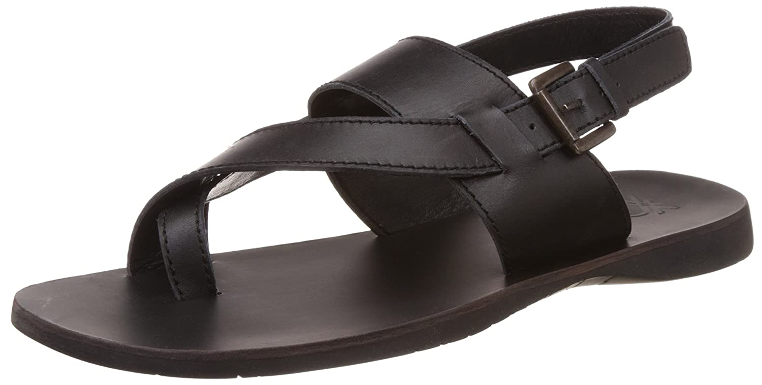 05dbbc7be5d1 United Colors of Benetton Men s Leather Sandals and Floaters  Buy Online at  Low Prices in India - Amazon.in