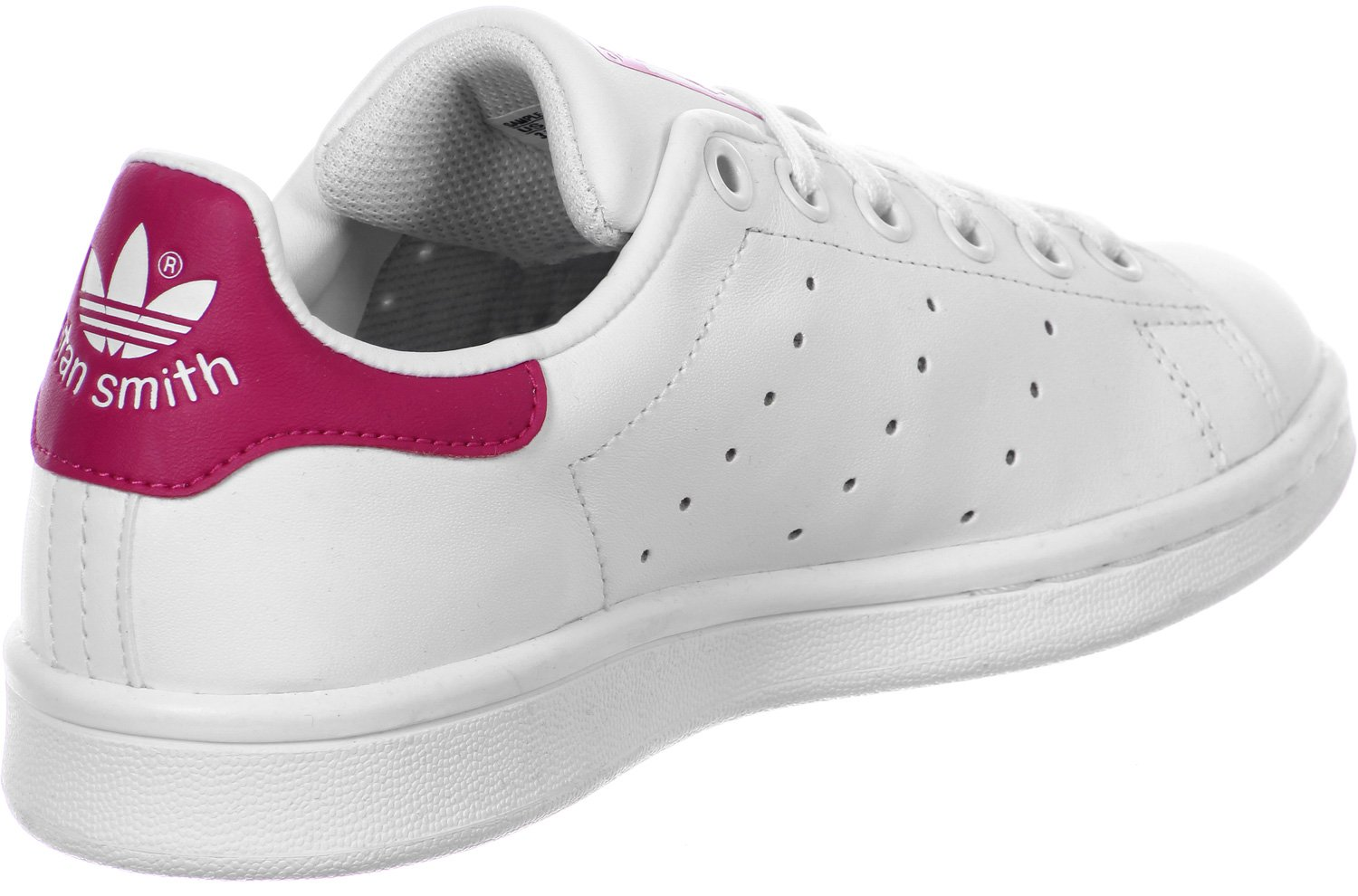 quality design 45f71 95289 adidas - Stan Smith - B32703 - Color: White-Pink - Size: 4.0
