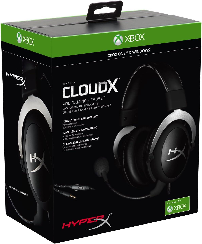 HyperX CloudX Pro - Auriculares Gaming para Xbox One/PC, Color Negro: Amazon.es: Informática