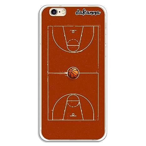 dakanna Funda para iPhone 6-6S   Campo y balón de Baloncesto ...