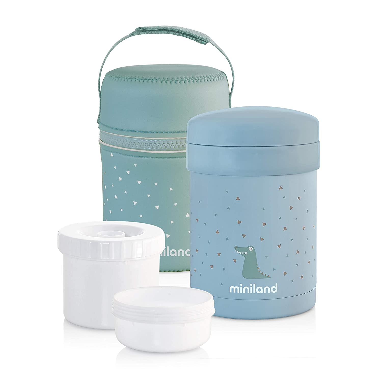 Miniland, Termo Termico, 89226, 700 ml con envases herméticos