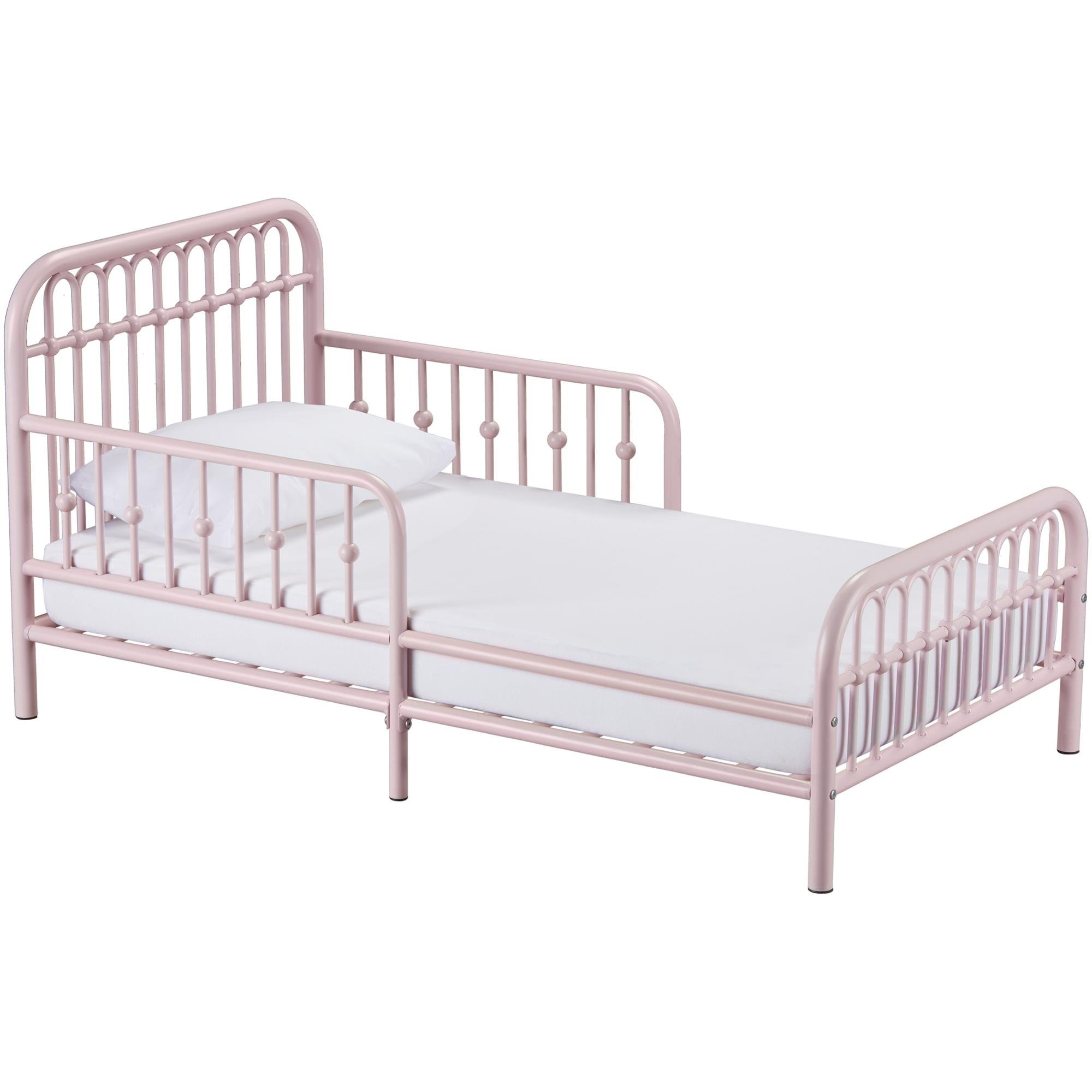 Little Seeds Monarch Hill Ivy Metal Toddler Bed, Pink by Little Seeds