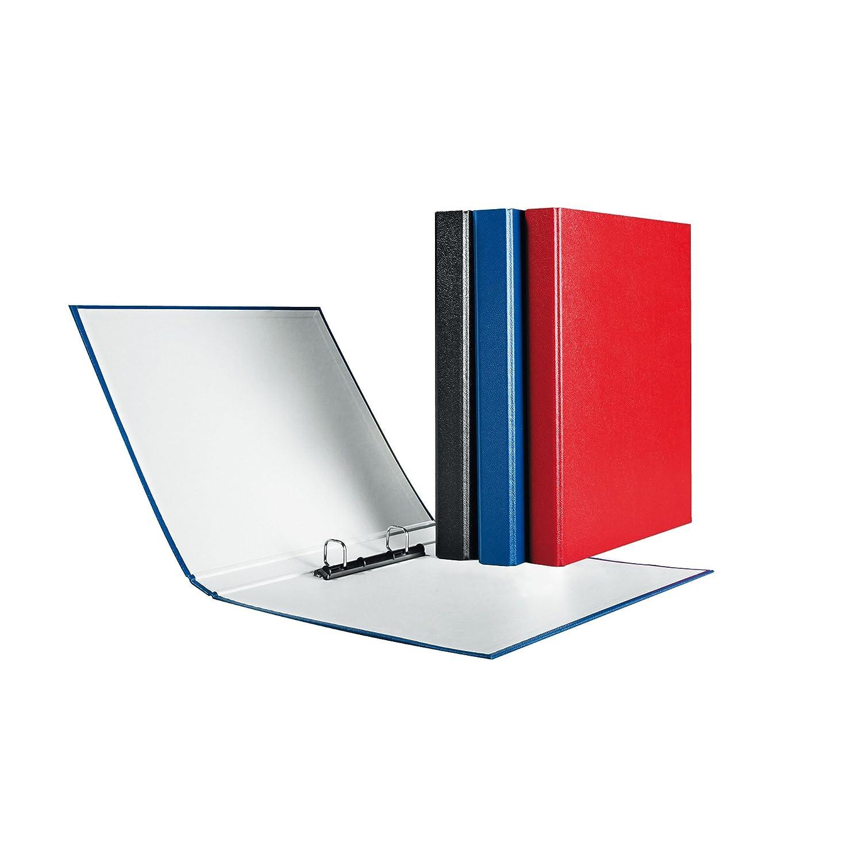 Herlitz max.file Protect - Lote de archivadores con 2 anillas (3 unidades, A4), color azul: Amazon.es: Oficina y papelería