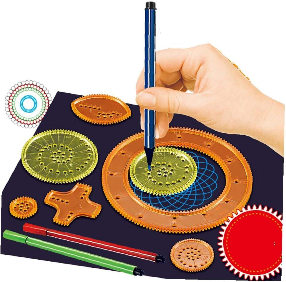 Adore store Pintura 1 Juego Reglas Las Reglas Las Plantillas de Dibujo de Herramientas Dibujo Dibujo Plantillas de Escritorio para ni/ños Mayores de 8 a/ños de Edad