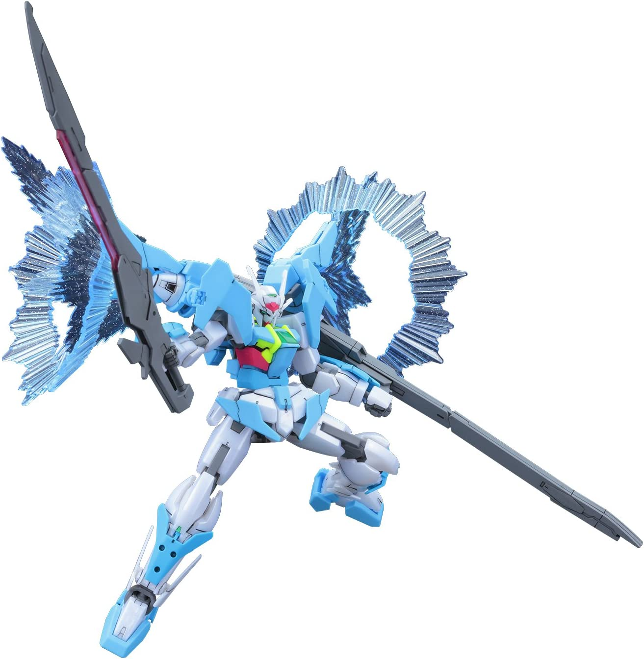 Bandai Hobby Build Divers Gundam 00 Sky Higher Than Sky Phase HG 1/144 Model Kit