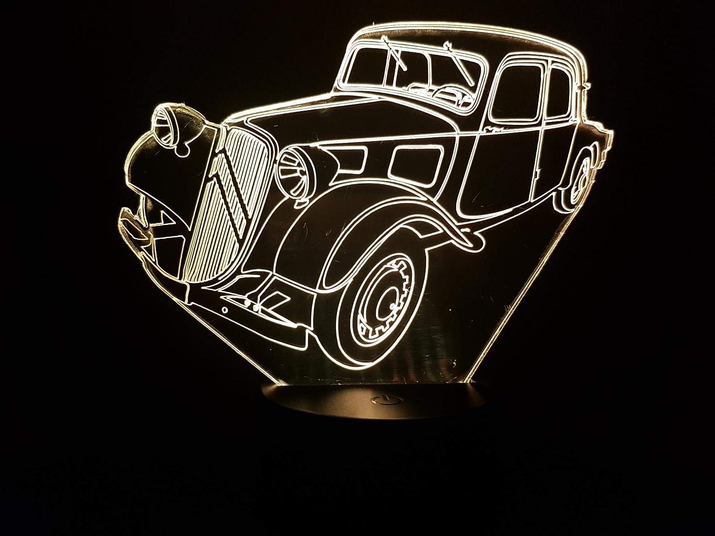 CITROËN TRACTION-AVANT (1er modèle), lampe 3D à LED