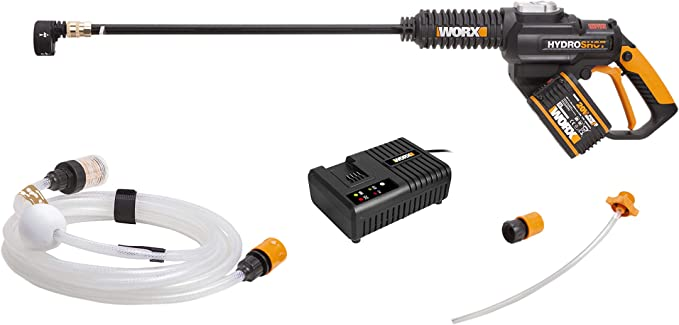 WORX WG630E.1 Cordless Portable Pressure Cleaner - Best Brushless Model