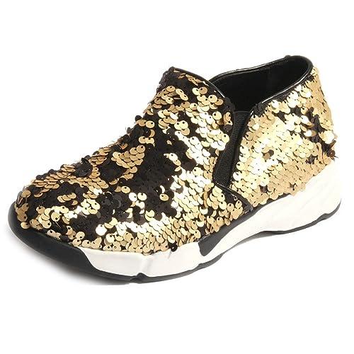 UMA PARKER - Zapatillas para mujer dorado dorado dorado Size: 37: Amazon.es: Zapatos y complementos