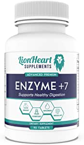 DIGESTIVE ENZYMES SUPPLEMENT - Includes Purified Ox Bile Salts - Tablets for No Gallbladder Sufferers - Enzyme for Digestion & Gas Relief - Helps Bloating, Acid Reflux, Constipation & Repair Leaky Gut