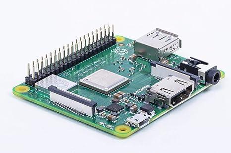 Raspberry Placa Base PI 3 Modelo A+, Cortex a 1.4GHZ, WiFi 5GHZ ...