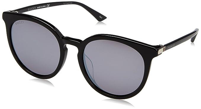 Gucci GG0064SK Gafas de Sol, Black, 55 para Hombre: Amazon ...
