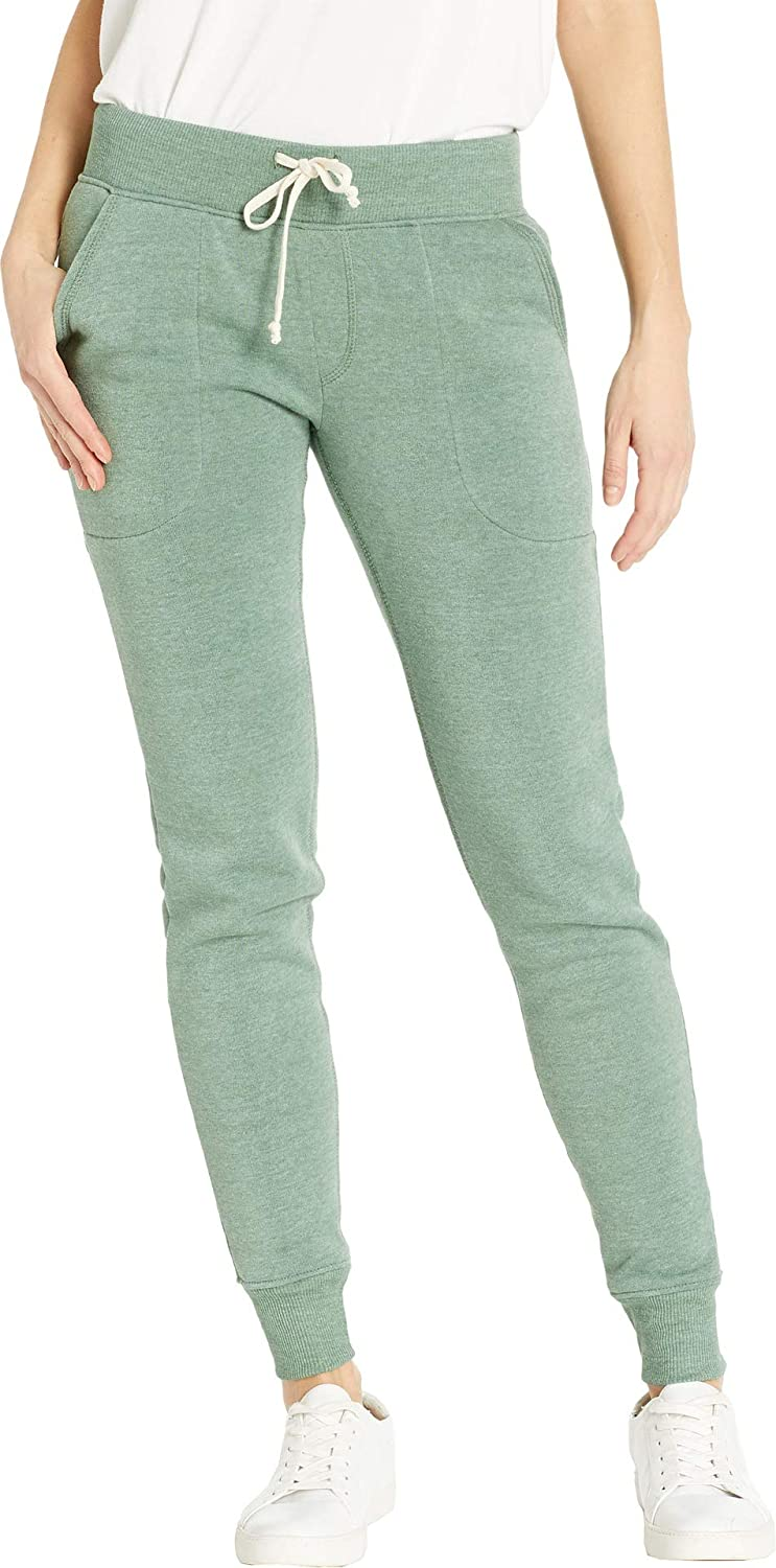 f2b33a47294 Alternative Women s Eco-Fleece Slim Fit Jogger Pant at Amazon Women s  Clothing store