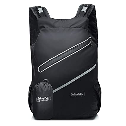 1a48005b9747 Image Unavailable. Image not available for. Color  Lightweight Foldable  Backpack