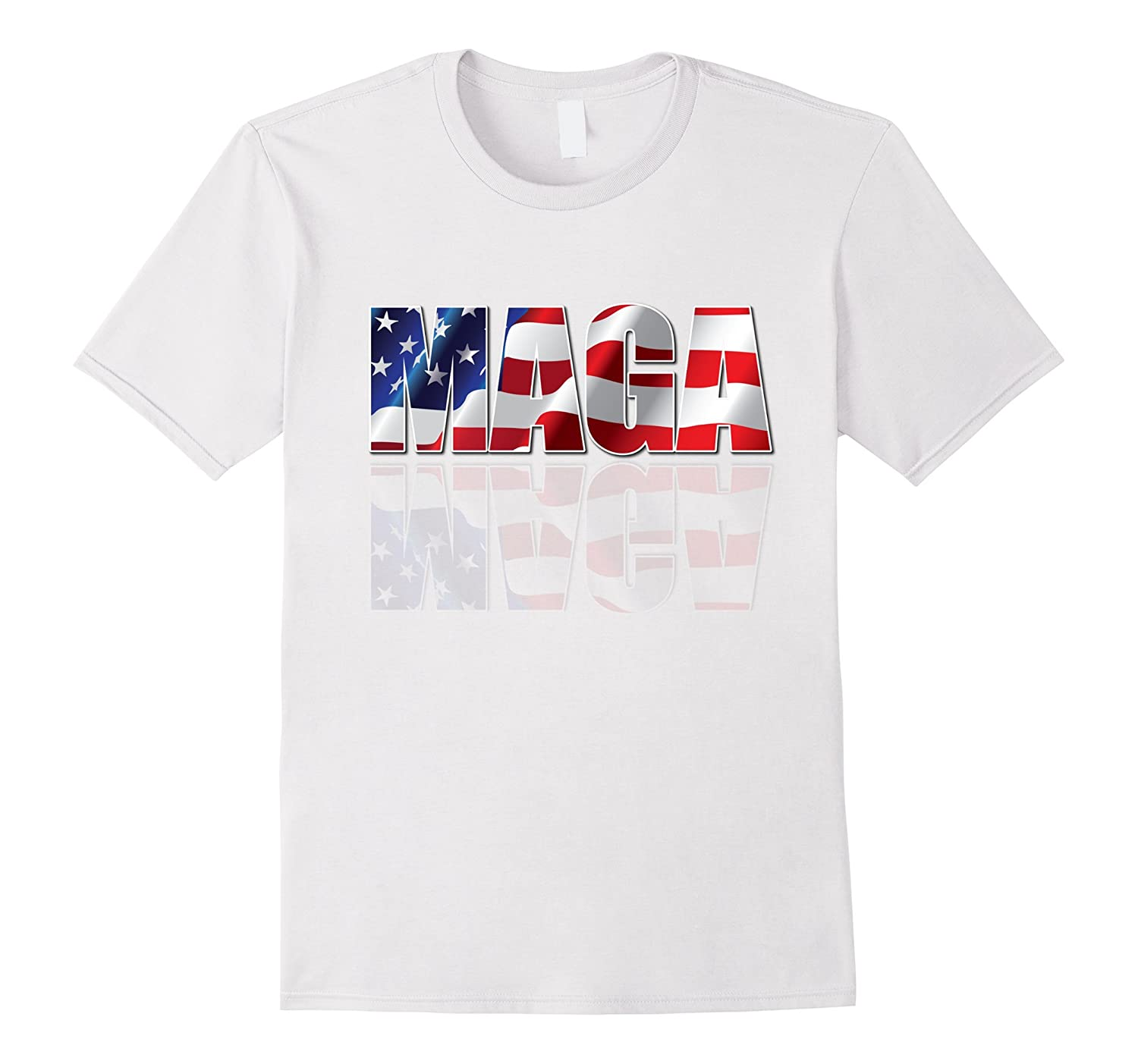 MAGA American Flag T-Shirt Trump Men Women Kids Graphic Tee-CD