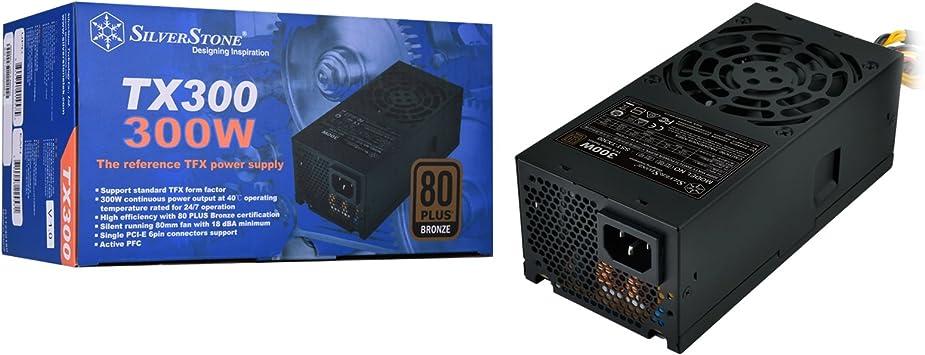 Silverstone SST-TX300 300W Standard TFX Form Factor 80 PLUS Bronze Power Supply