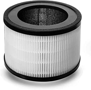 Compass Home Air Purifier Replacement Filter - H13 HEPA Filter Refill Compatible with Model DGZ9026G