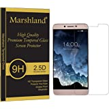 Marshland® LeEco Le Max 2 Crystal Clear Tempered Glass Screen Protector 2.5D Round Edge, 0.33mm Thickness, 9H Hardness, Anti Glare, Anti Explosion, Bubble-free, Oleo phobic Coating