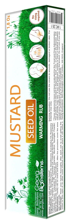 Warming Rub with Mustard Seed Oil 50g/1.8 Oz