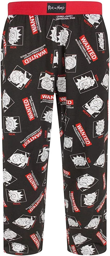 Size X Large Rick and Morty Lounge Pant
