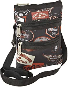 Harley Davidson X-Body Sling Backpack, Vintage, One Size