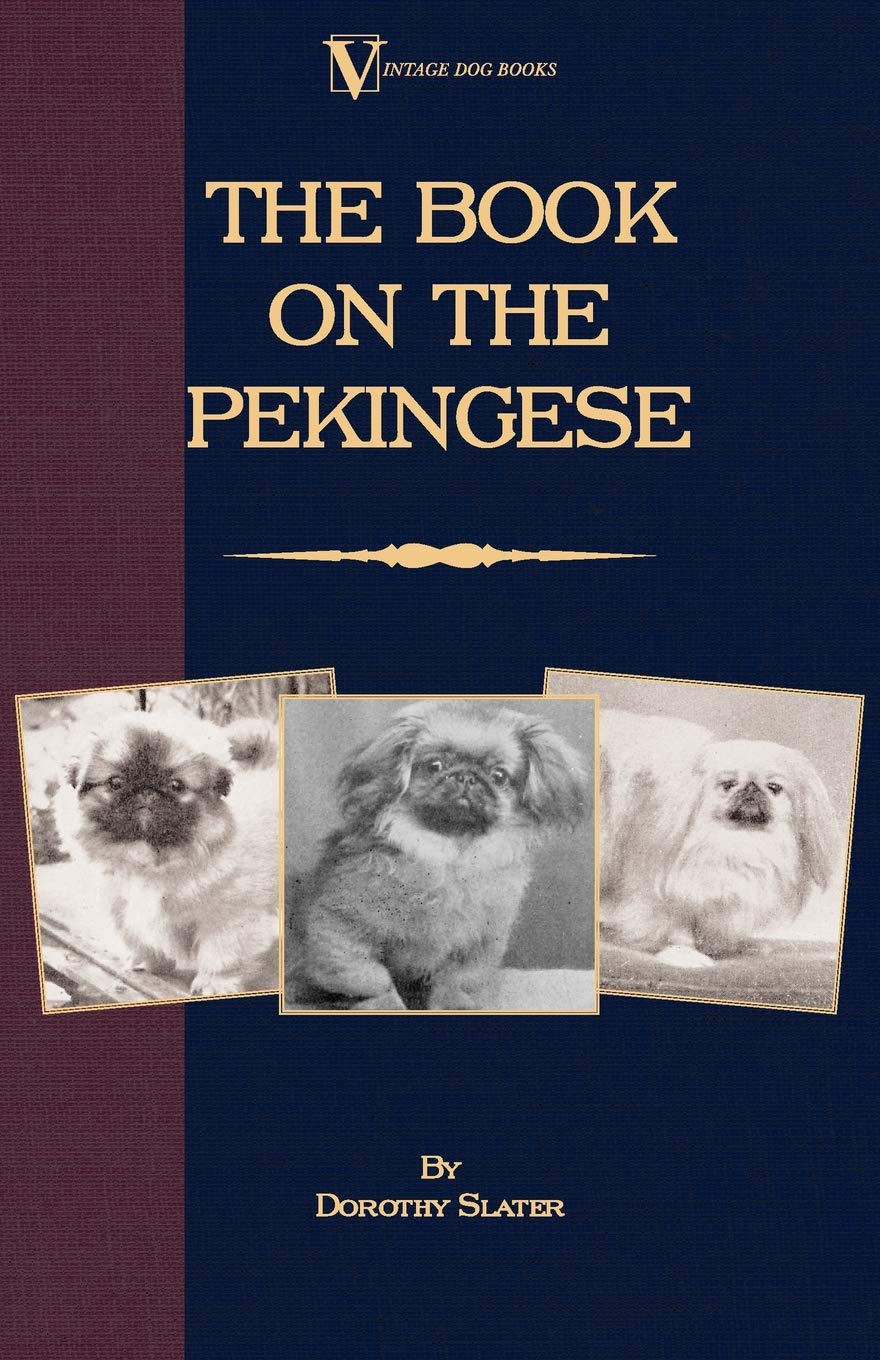 The-Book-on-Pekingese-A-Vintage-Dog-Books-Breed-Classic