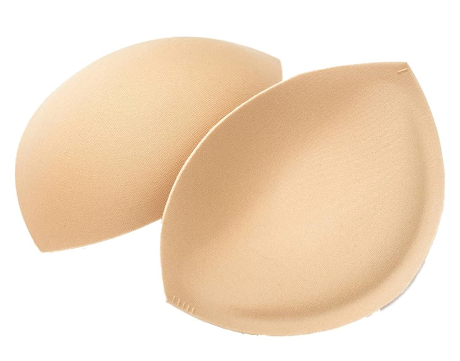 Confetti Cups - Sew in Bra Cups - Flesh, Ivory or Black (C, Nude) 300642F
