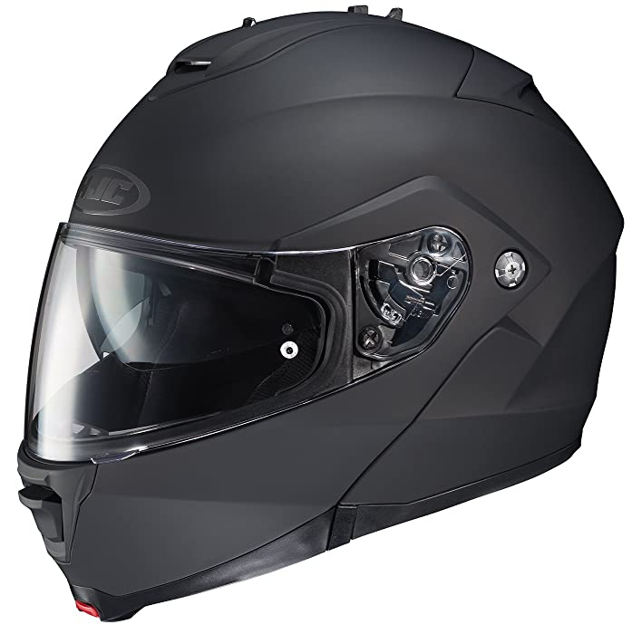 HJC IS-MAX II Modular Motorcycle Helmet (Matte Black, X-Large)