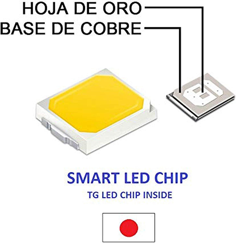 Clase de eficiencia energ/ética A POPP/® Downlight Panel Superficie Circular 6W 12W 20W 24W plafon Redondo Para Techo y Pared Mejor Precio 4000K 6000K 6000K, 24W