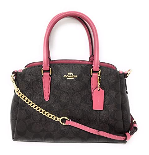 Amazon.com: COACH F29434 Mini SURREY CARRYALL IN SIGNATURE ...