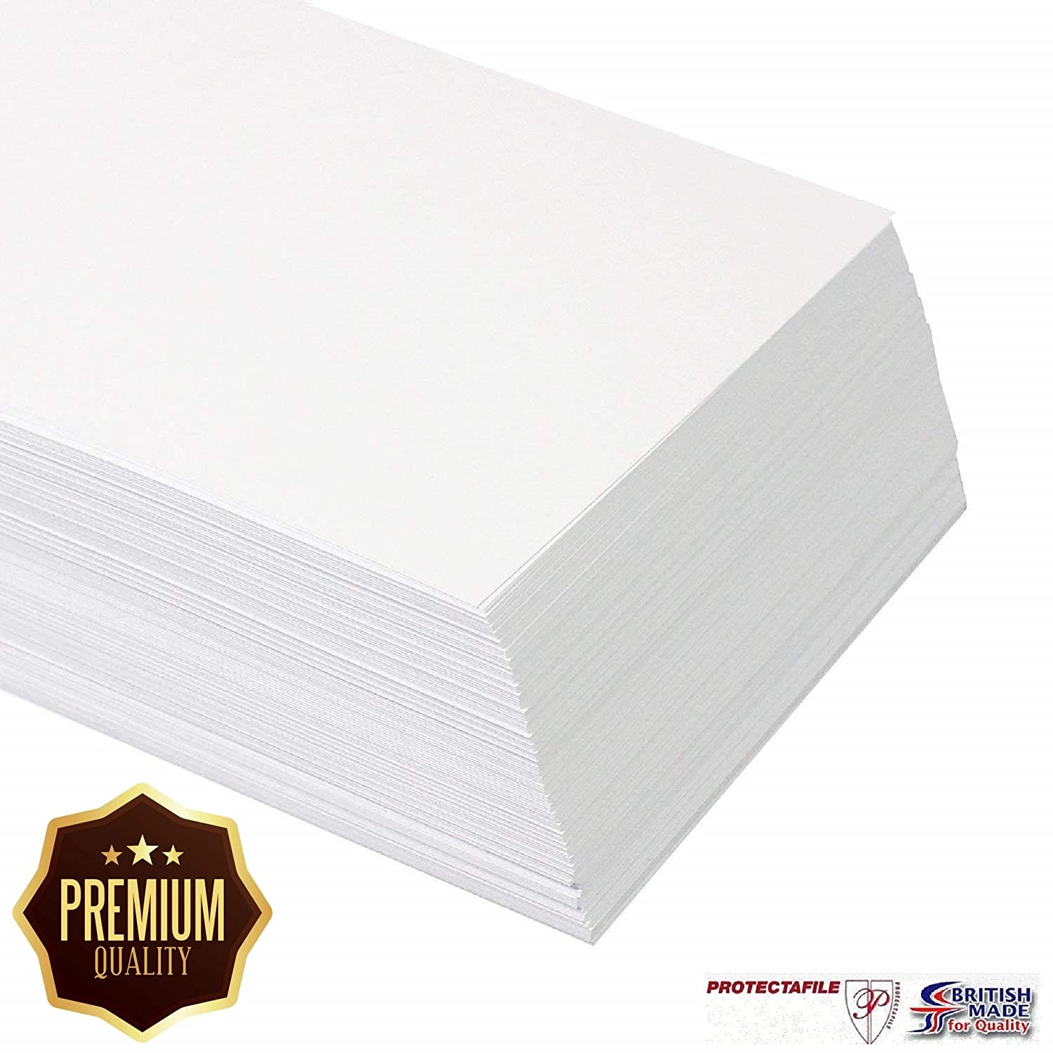 Weddings /& Events 10 x A5 White Premium Blank Invitation Cards 400gsm