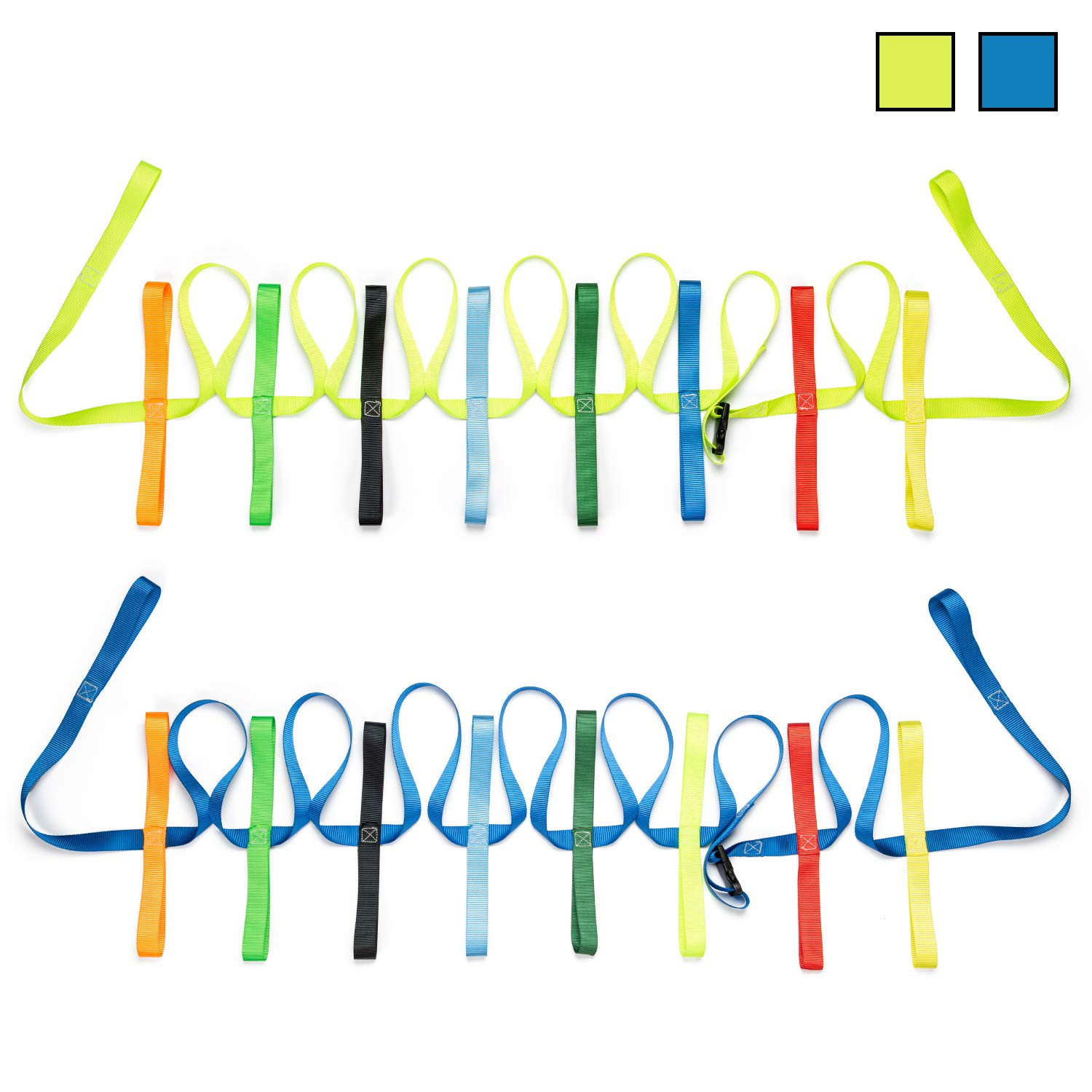 The Learning Classroom 12-child w/ 4-child extension walking rope for preschool | daycare w/ carry bag.