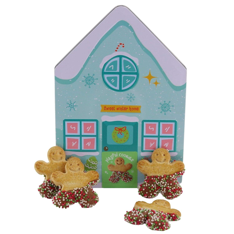 BeckyŽs - Tarro de Galletas para Navidad, Sweet Winter Home con ...