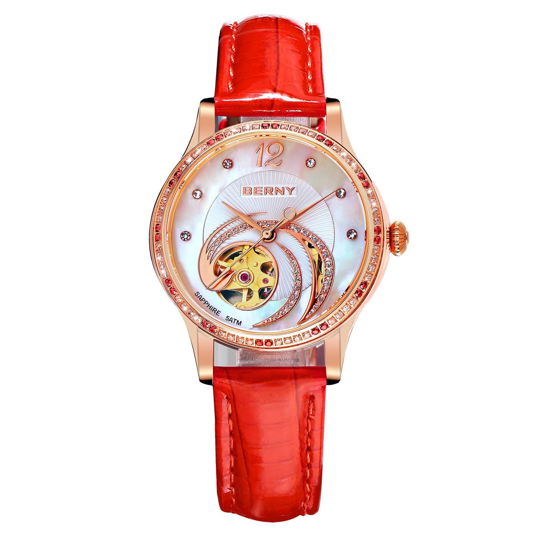 Amazon.com: BERNY Phoenix Series - Reloj de pulsera ...