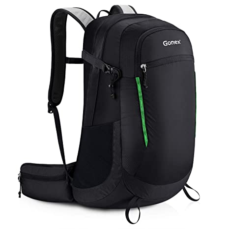 Gonex 35L Hiking Backpack Water Resistant Trekking Rucksack for Outdoor Hiking  Travel Climbing Camping Mountaineering( 50836d1b0d