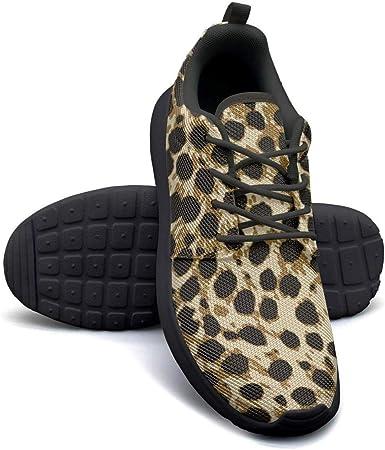 Leopard Print Gym Shoes for Women cute