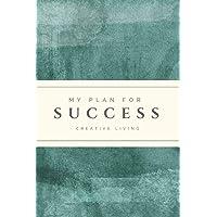 "My Plan for Success: 6"" X 9,"" 2019 Weekly Calendar & Planner, 52-Week Organizer/Journal, Appointment Book - Green Slate"