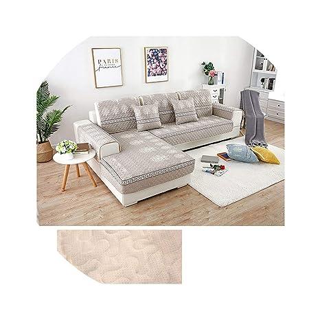 No Buy No Bye - Funda de sofá esquinera en Forma de L para ...