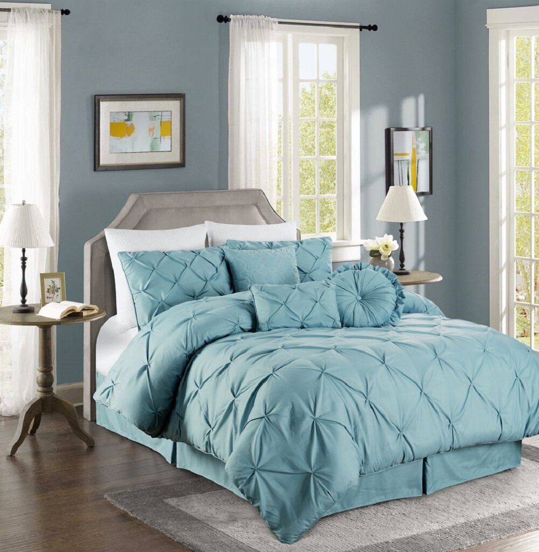 Pintuck Comforter Sets Sale Ease Bedding With Style