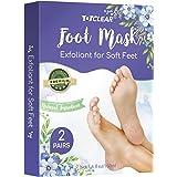 TOTCLEAR Exfoliating Foot Peel Mask for Softer, Smooth Feet- Gently Peel Away Calluses & Dead Skin, Repair Rough Heels, Get B