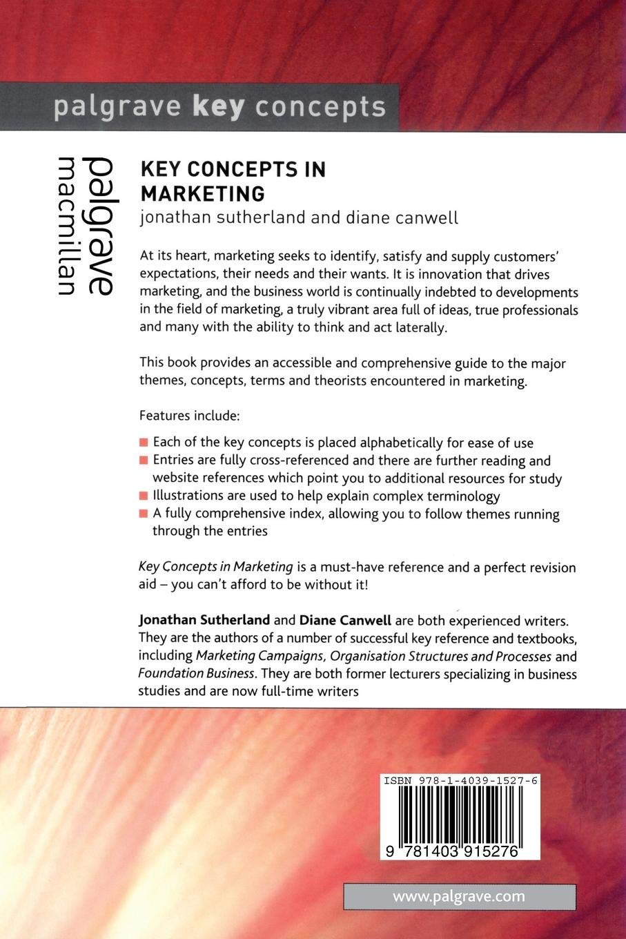 Key Concepts in Marketing (Palgrave Key Concepts)