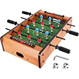 WIN.MAX Mini Foosball Table (Upgrade) 20-Inch Table Top Football/Soccer Game Table for Kids Easy to Store